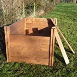 The Big Square Wooden Modular Compost Bin 1.2m x 1.2m (1080 litres)