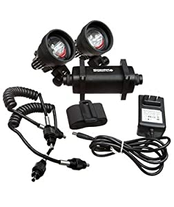 Watershot STRYKR Dual V900 150M Video Light 4-Cell Battery Kit Scuba Diving LED Light... by Watershot Inc.