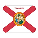 US State Flag - Wedgefield, Florida (FL) Mouse Pad