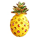 Miss Darcy Bling Crystal Rhinestones 3.5mm Pineapple Pattern Cellphone Charms Anti-Dust Dustproof Earphone Audio Headphone Jack Plug Stopper for iPhone 4 4S 5 5S Samsung Galaxy S2 S3 S4 Note I9220 HTC