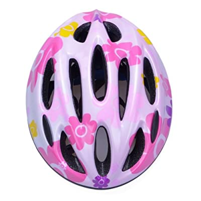 Boys and Girls Road Bike Cycling Skating Helmets in size 50-60cm, pink by WIN-WIN