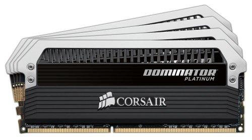 Corsair Dominator Platinum 32GB (4x8GB)  DDR3 1600 MHz (PC3 12800) Desktop Memory (Corsair Dominator Platinum Gold compare prices)