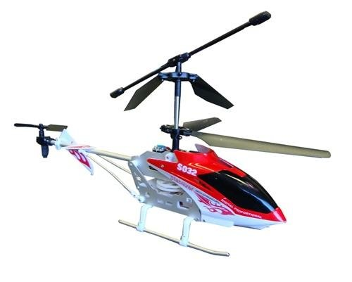 Cobra Toys Mid Size 3 Channel RC (Remote Controlled) Helicopter with Gyro - Syma S032