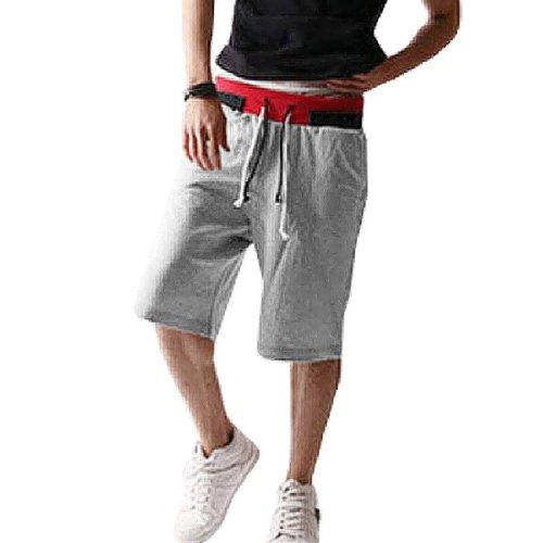 TOOGOO(R) Alla moda Uomo Casual freddo corda Sport pantaloni corti pantaloni da jogging