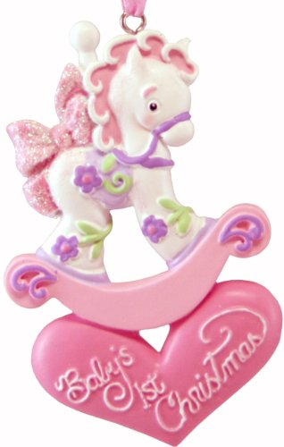 Baby Girl Rocking Horse back-620917