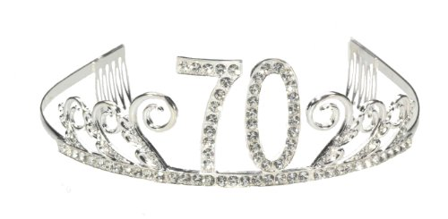 70th Happy Birthday Tiara
