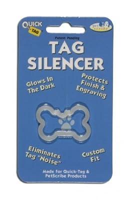 QuickTag Dog Tag Silencer - Large Bone