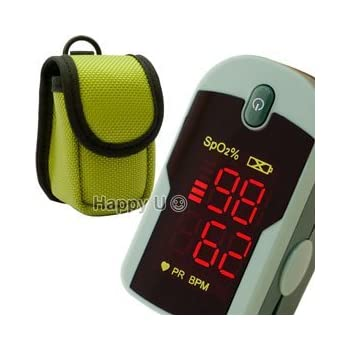 This ChoiceMed Fingertip Pulse Oximeter provides accurate blood oximetry (oxygen saturation) and pulse rate with segment bar graph in just seconds.</p><br /> <p>Features a large, bright, easy to read red LED display which allows you read in the dark and severe w...