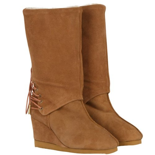 Love From Australia Roxanne Caramel Sheepskin Boots (6)