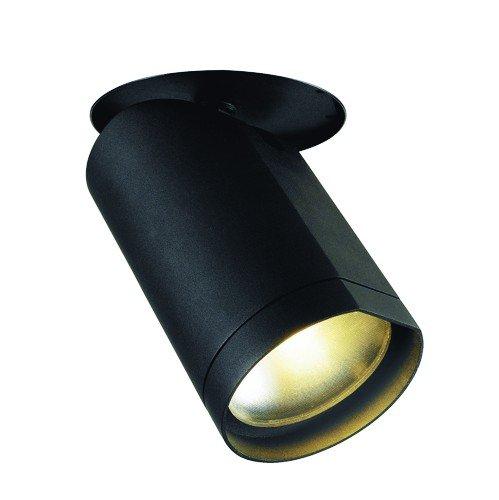 SLV Deckeneinbauleuchte Bilas Downlight, 60 Grad, 20W, COB LED, 2700K, schwarz 156410