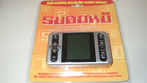 Cheap Fun SUDOKU ELECTRONIC GAME SELF SETTING PUZZLE FOR EXPERT PLAYER OVER 2 MILLION GAMES (B004AQRX32)