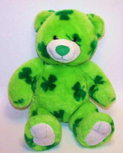 Build a Bear Workshop BAB Lucky Bear Green Shamrocks (Shamrock Bear compare prices)