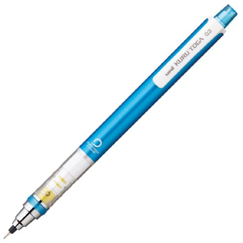 三菱鉛筆 シャープペン ユニ クルトガ スタンダードモデル 0.3mm ブルー