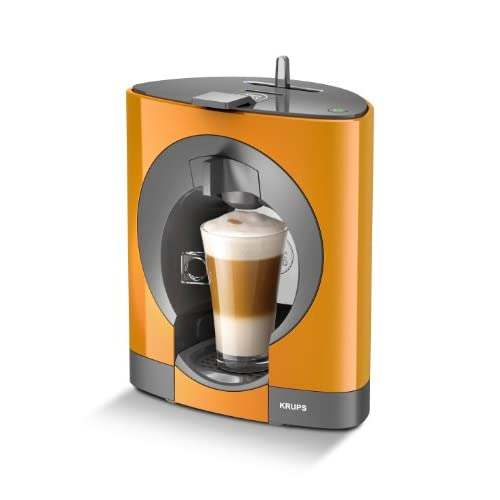 NESCAFÉ Dolce Gusto Oblo Coffee Capsule Machine by KRUPS - Orange