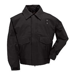5.11 Tactical #48027 4-in-1 Patrol Jacket (Black, Large Long)
