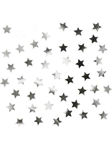 Creative Converting Stars Confetti, Silver - 1
