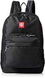 OBEY Men's Revolt Red Juvee Backpack, Black, One Size