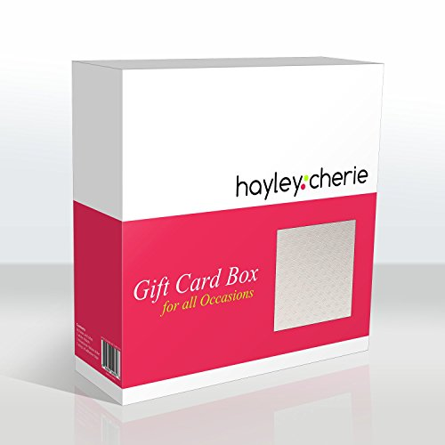 Wedding Gift Card Box Amazon : CherieSquare Gift Card Box with Rhinestone Slider & Ribbon. Wedding ...