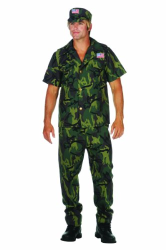 Military Man Plus Size Costume