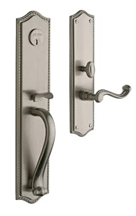 Baldwin hardware bristol set trim front door for Front door furniture sets