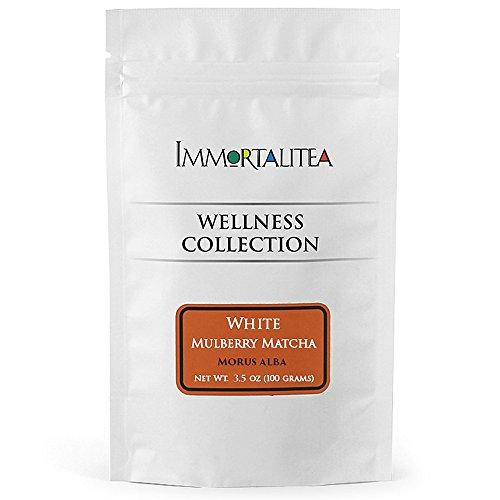 immortalitea-mulberry-matcha-style-tea-powder-kuwacha-caffeine-free-100g