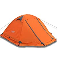 Double Layer 2 Person 4 Season Aluminum Rod Outdoor Camping Tent Topwind 2 Plus with Snow Skirt from YingYing Camping Tent