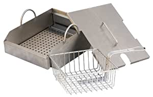 Solaire Stainless Steel Steamer/Fryer for Solaire AGBQ-27 Grills