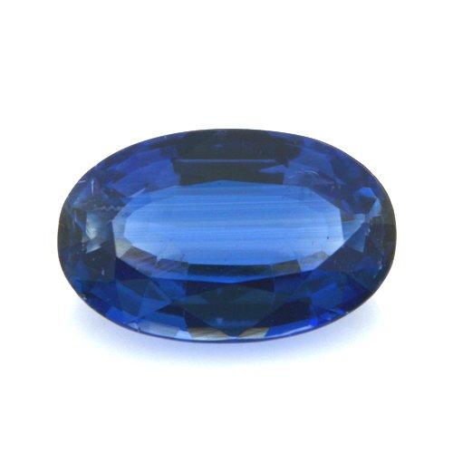 Natural Cornflower Blue Kyanite Loose Gemstone Oval Cut 2.65cts 11*7mm