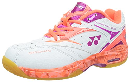 YONEX da donna shb-sc5lx multicourtschuhe SS15Scarpe, donna, Shb-SC5LX Multicourtschuhe SS15, bianco, Size UK 6