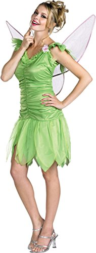 Morris Costumes Women's TINKER BELL CLASSIC AD, Green, 12-14