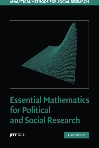 Essential Mathematics for Political and Social Research...