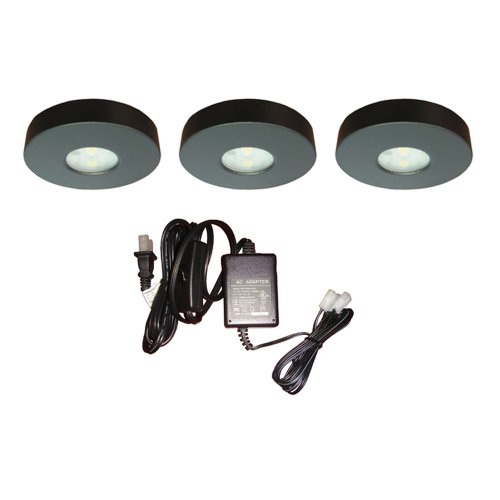 Dals K4002-Bk 12V Dc High Power Led Puck Black