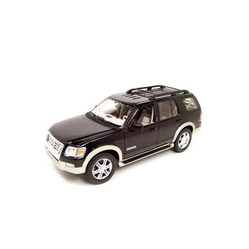 Amazon.com: 2006 Ford Explorer Diecast Model Black 1:18 Eddie Bauer
