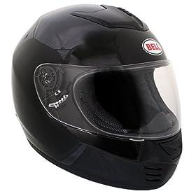 Bell Zephyr Black Clam Street Full Face Helmet