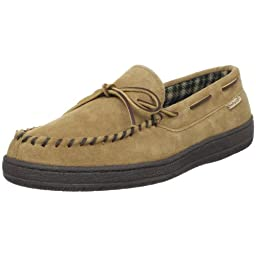 Hideaways by L.B. Evans Men\'s Marion Moccassin,HashBrown,10 M US