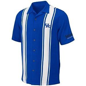 Kentucky Wildcats Mens Passage Camp Shirt by Chiliwear by Chiliwear LLC