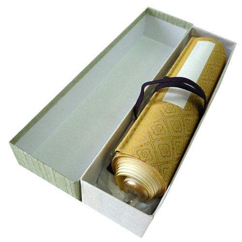 印可巻 6×30寸 金茶系 ※巻物