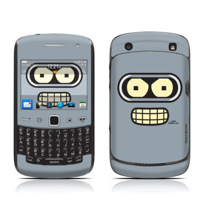 Bender Face Design Protective Skin Decal Sticker For Blackberry Curve 9350 9360 9370 3G Cell Phone front-536772