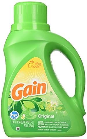 gain he liquid detergent 50 oz original fresh 32 loads
