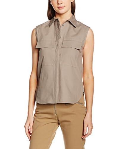 Belstaff Camisa Mujer Hartland Marrón