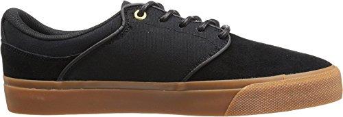 DC Men's Mikey Taylor Vulc Skate Shoe, Black/Gum, 10.5 M US