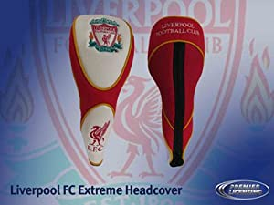 Liverpool Fc Extreme Golf Headcover - Red/White, Fairway by Liverpool FC