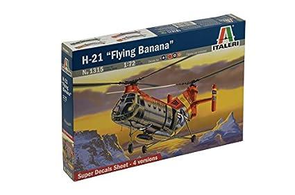 Italeri - I1315 - Maquette - Aviation - H-21 Flying Banana - Echelle 1:72