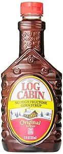 Amazon Com Log Cabin No High Fructose Corn Syrup