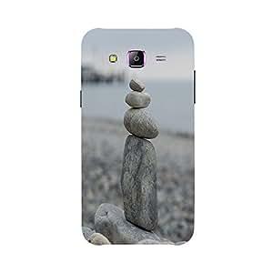 Back cover for Samsung Galaxy J7 Balanced Pebble
