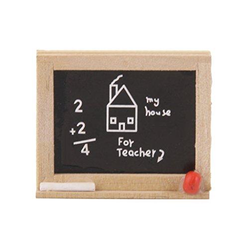 Tableau Noir Miniature pour 1/12 Maison de Poupée