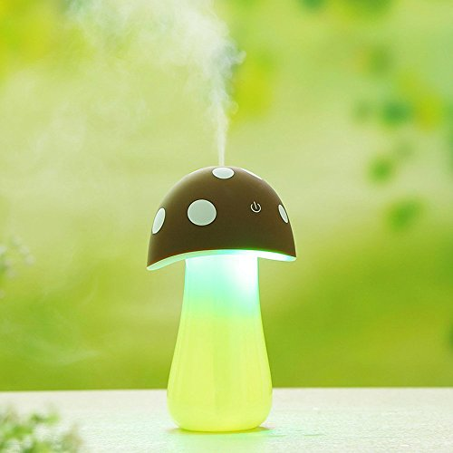 okcsc-humidificador-de-aire-usb-diseno-de-seta-con-luz-led-color-marron