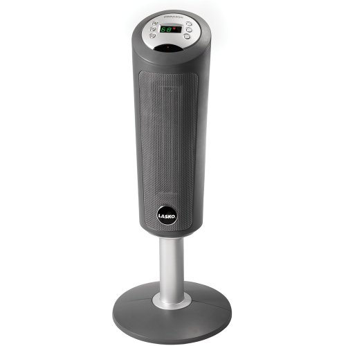 Lasko 5365 Ceramic Pedestal Heater With Remote Control