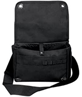 Black Classic Army Messenger Heavy Weight Shoulder Bag 83