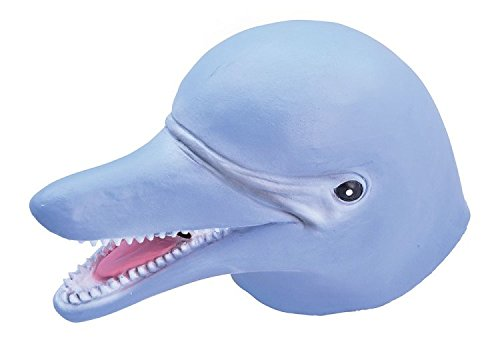 Dolphin Zoo Marine Animal Fancy Dress Accessory Mask